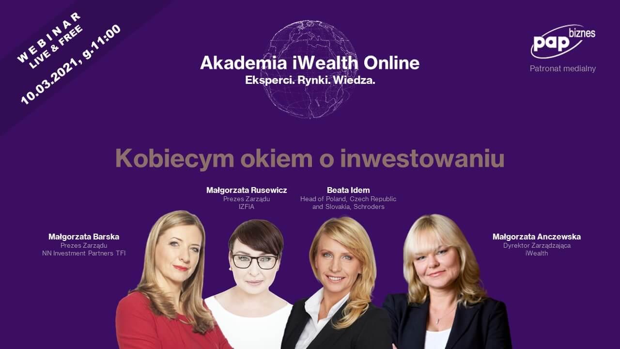 zdjęcie przedstawiające kobiety zajmujące kluczowe stanowiska na polskim rynku kapitałowym
